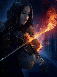 Картинка Огненная скрипка