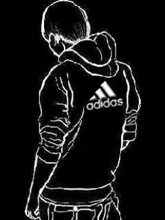 Картинка Adidas+Парень