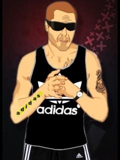 Картинка Тюряга+Adidas