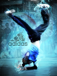 Break Dance + Adidas