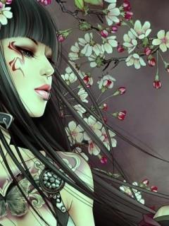 Картинка Девушка-воин