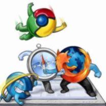 Картинка Битва браузеров