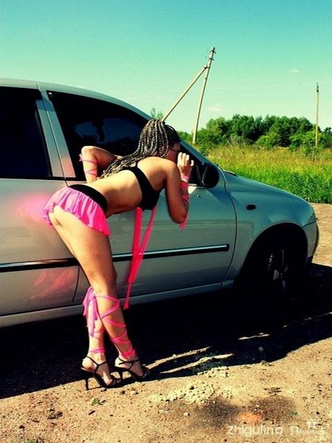 Картинка Девушка+ авто