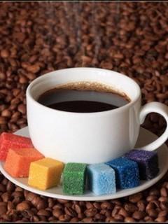 Картинка Кофе и мармелад