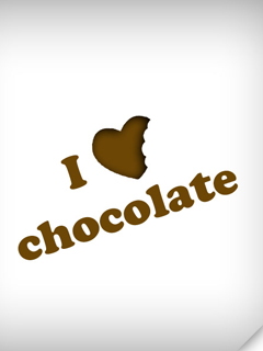 Картинка I love chocolate