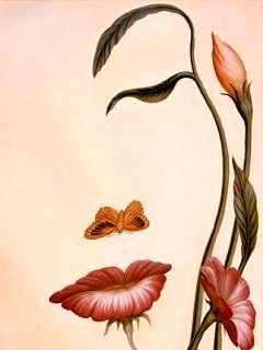 Картинка Flower Face