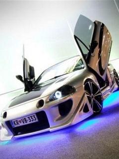 Картинка Neon Car