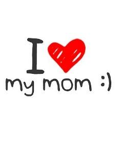 Картинка Я люблю маму