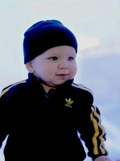 Картинка Малыш + Adidas