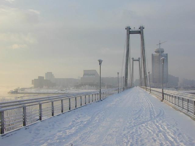 Картинка Красноярск зимой