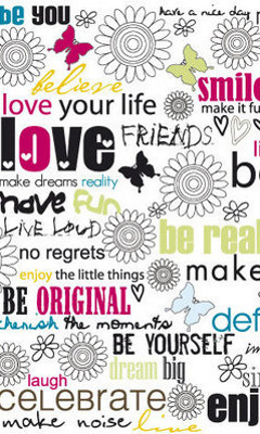 Картинка Love your life