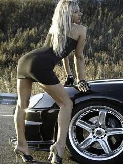 Картинка Девушка+авто