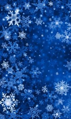 Картинка Снежинки
