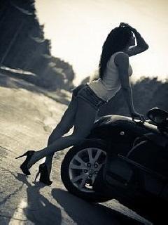 Картинка Девушка и машина
