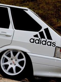 Картинка Ваз + Adidas