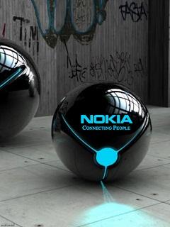 Картинка Nokia Blue Neon