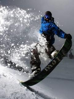 Картинка Сноубордист