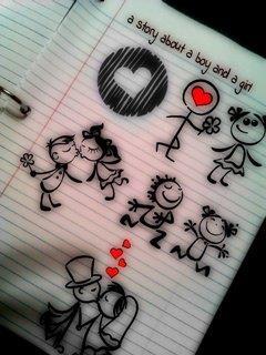 Картинка История любви