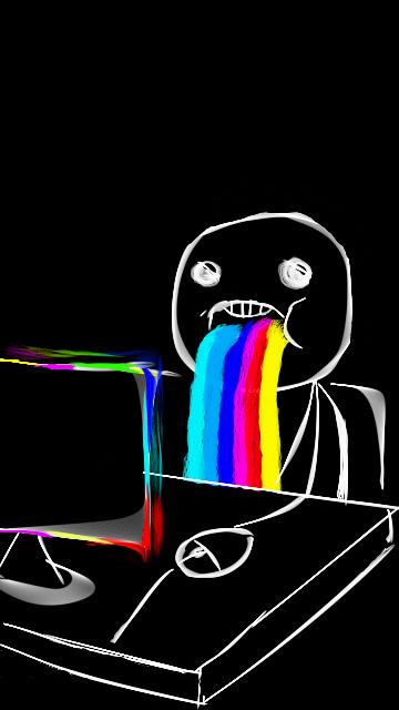 Картинка Neon Face