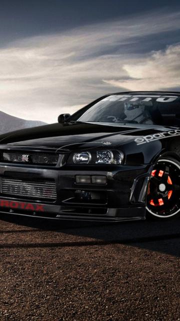 Картинка Nissan Skyline GTR