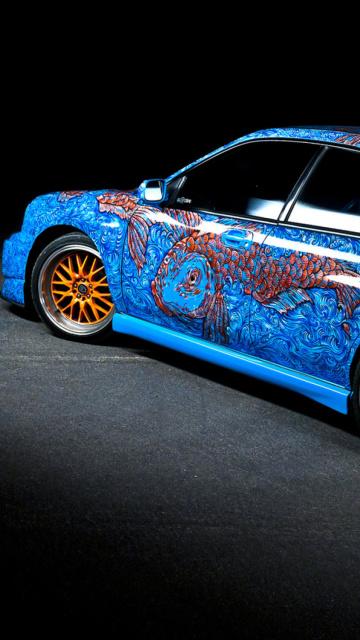 Картинка Subaru Wrx Sti