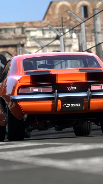 Картинка Chevrolet Camaro Z28