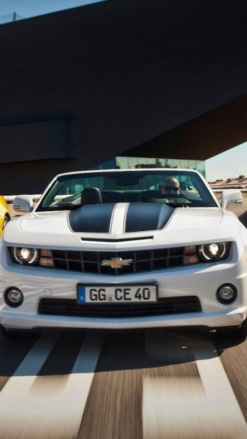 Картинка Chevrolet Camaro Convertible Europe