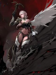 Картинка Ангел девушка