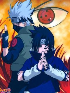 Картинка Sasuke and Kakashi