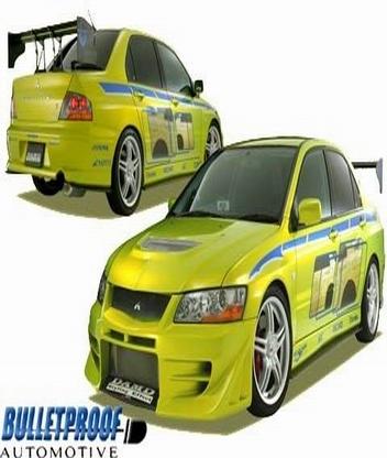 Картинка Evo 7 mitsubishi car