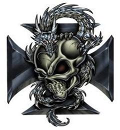 Картинка Tribal-skull