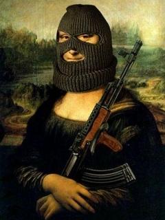 Картинка Мона лиза