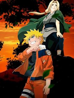 Картинка Naruto and Tcunade