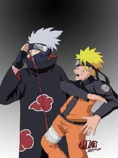 Картинка Naruto and Kakashi Akatuki
