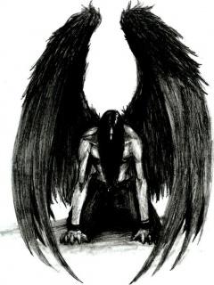 Картинка Тёмный ангел