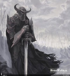 Картинка Рыцарь тьмы