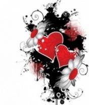 Картинка Абстракция сердечек