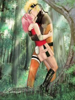 Картинка Наруто и Сакура