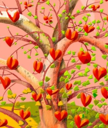 Картинка Любовное дерево