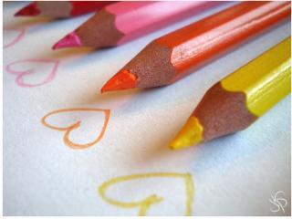 Картинка Сердца и карандаши