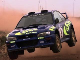 Картинка Subaru rally 555