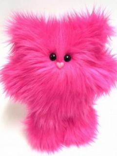 Картинка Розовый котёнок