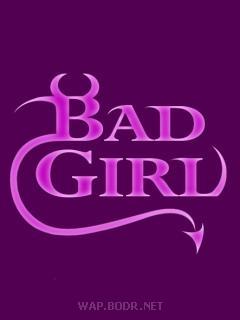 Картинка Bad girl
