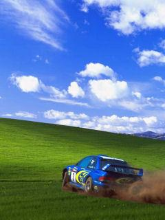 Картинка Windows XP  & car