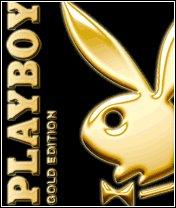 Картинка Playboy золотой