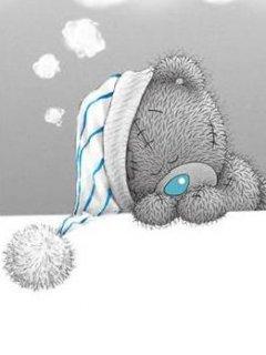 Картинка Спящий тедди