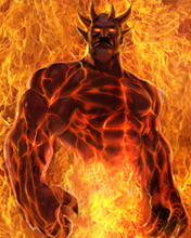 Картинка Огненный демон