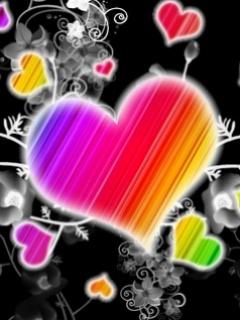 Картинка Rainbow Hearts