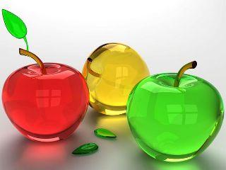 Картинка Стеклянные яблоки