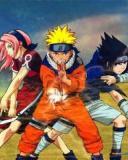Картинка Naruto vs Sasuke vs Sakura